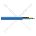 Round 3 Core 1.5mm Arctic Grade  Flex 15A 3183YG  - Colour Blue