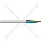 Round 3 Core 1.5mm Heat Resistant PVC Flex 15A 3093Y Hank - Length (m) 10
