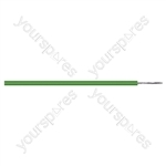 Eagle Green 55 Strand 2 Core Extra Flexible Equipment Wire - 25m Roll