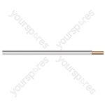 White/Black Standard Figure 8 Loudspeaker Cable - Number of Strands 13