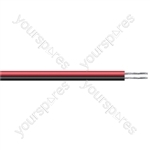 Eagle Figure of 8 Black/Red 2 Core Power Cable - Current Rating 25A