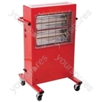 2kW Portable Commercial Halogen Heater 110V