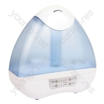 380 ml/hr Ultrasonic Humidifier & Ioniser with 4.5 L Water Tank