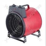 3 kW Commercial Fan Heater with 2 Fan Speed Settings - Type UK Model