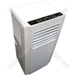 Prem-I-Air 9000 BTU Per Hour Mobile Portable Air Conditioner With Remote Control and Timer