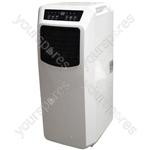 Prem-I-Air 12000 BTU Per Hour Mobile Portable Air Conditioner With Remote Control and Timer