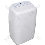 Prem-I-Air 14000 BTU Mobile Portable Air Conditioner With Remote Control and Timer