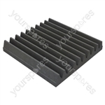 30 X 30 X 5cm Foam Acoustic Tiles (Pack of 16)