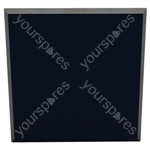 60 X 60 X 5CM FABRIC FACED TILE (Pack of 6) - Colour Ink Blue