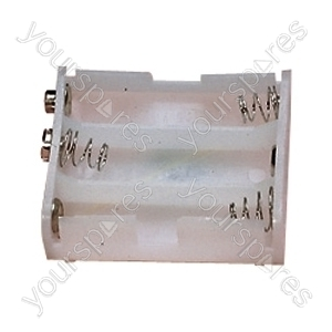 Battery Holder for 3xAA Cells