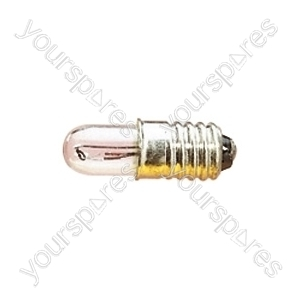 Clear 50 mA LES Screw Fitting Bulb - Voltage 6V