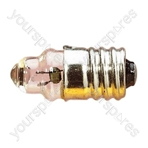 Clear 200 mA MES Screw Fitting Bulb - Voltage 2.2V