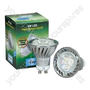 Crompton 240 V 4 W LED Daylight 30000 Hour 30 Degree GU10 Lamp