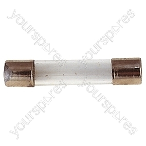 32 mm Glass Quick Blow Fuse - Rating (A) 630mA