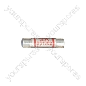 Domestic Mains Fuses (Blister of 4) - Rating (A) 3