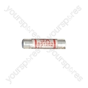 Domestic Mains Fuses (Loose) - Rating (A) 3