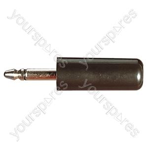 2.5 mm Mono Plastic Jack Plug with Solder Terminals