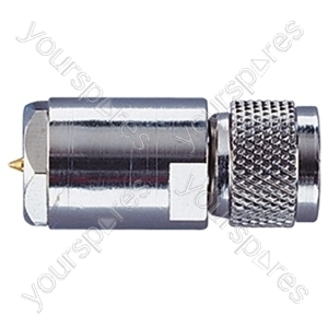 FME Male to Mini UHF Male In-Line Connector