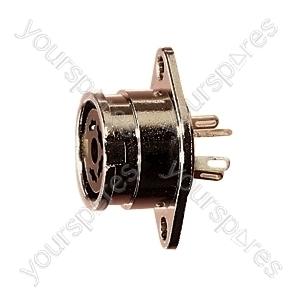 5 Pin 240 Degree Locking DIN Chassis Socket