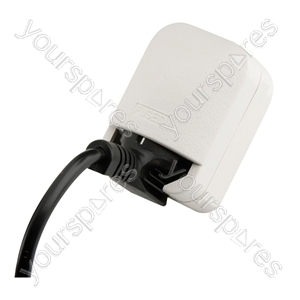3 A Euro Converter Schuko Earthed Euro Plug to 13 Pin UK Plug