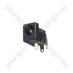Plastic DC Power Chassis Socket