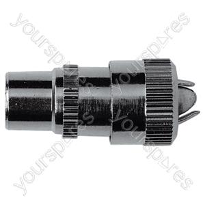 9.5 mm Coaxial Line Plug