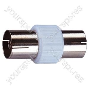 Coaxial Line Socket to Line Socket Coupler
