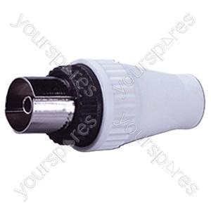 9 mm (SECAM) Coaxial Line Socket