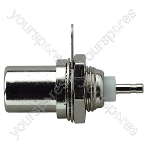 Coaxial Chassis Plug with Solder Terminals