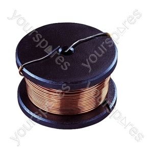 9mH 1.7A Ferrite Coil For Use In Crossover Networks. Bobbin