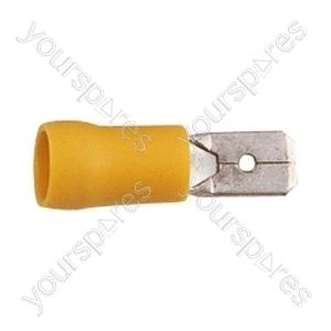 Blade Crimp Terminal  - Colour Yellow