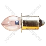 Clear 500 mA Pre Focus Bulb - Voltage 12V