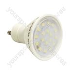 Crompton 240 V 4 W LED 25,000 Hour 110 Degree GU10 Lamp - Colour Cool White