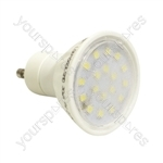 Crompton 240 V 4 W LED 25,000 Hour 110 Degree GU10 Lamp - Colour Daylight
