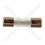 20 mm Glass Slow Blow Fuse - Rating (A) 125mA