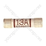 Domestic Mains Fuses (Blister of 4) - Rating (A) 13