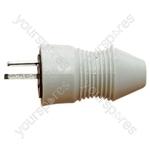 2 Pin DIN Line Plug