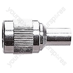 TNC Crimp Type Male Plug for RG58 Cable