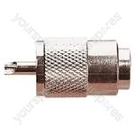 UHF Male Plug with Internal Diameter 9.5 mm