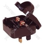 3 A Euro Converter Plug Non Earthed Shuko Euro Plug to 3 Pin UK Plug