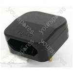 3 A Fused Converter Plug 2 Pin Transformer Plug to 3 Pin UK Plug