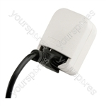 3 A Euro Converter Schuko Earthed Euro Plug to 13 Pin UK Plug