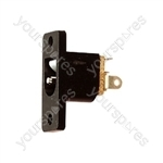Plastic DC Power Chassis Socket - Centre Hole 2.5mm