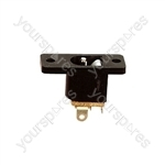 Plastic DC Power Chassis Socket - Centre Hole 3.1mm