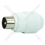 9 mm Coaxial Line Plug