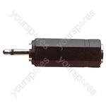 2.5 mm Mono Plug to 3.5 mm Mono Socket Adaptor