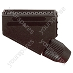21 Way Scart Line Socket with Plastic Cover and Solder Terminals