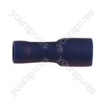 Female Bullet Crimp Terminal   - Colour Blue