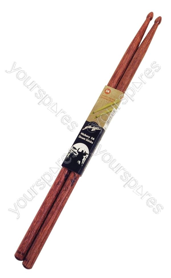 hickory drum sticks pair size 5a g908hb by johnny brook. Black Bedroom Furniture Sets. Home Design Ideas
