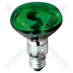 R080 Reflector Lamp ES 60W - Colour Green